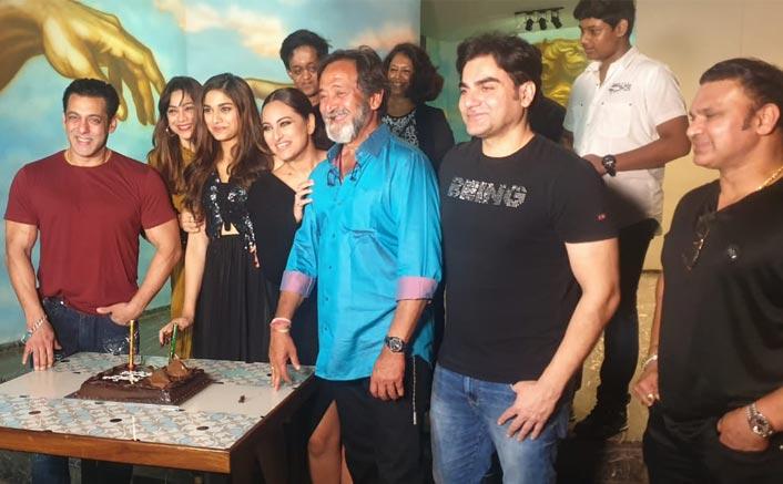 Salman Khan & Dabangg 3 Team Come Together To Celebrate Saiee Manjrekar's Birthday