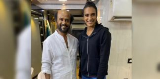Fan Girl Moment: Badminton Star PV Sindhu Meets Rajinikanth In Hyderabad