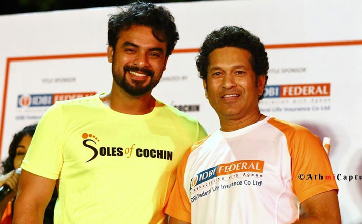 Fanboy Moment: Mollywood Heartthrob Tovino Thomas With Cricketing Great Sachin Tendulkar