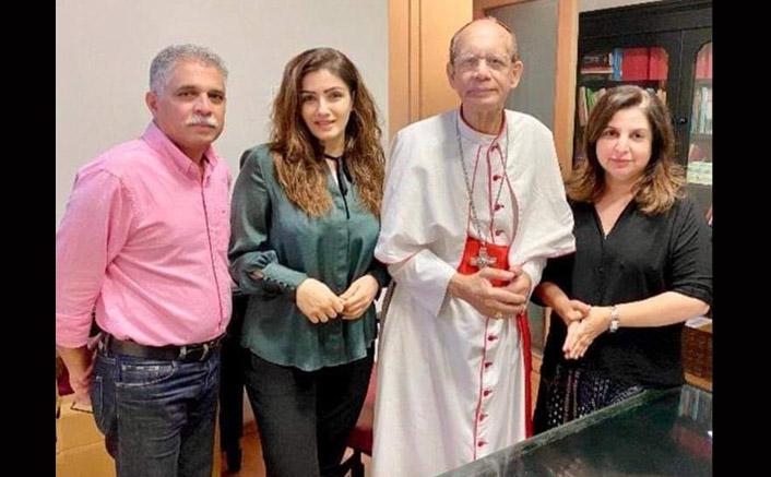 Farah, Raveena apologise to His Eminence Cardinal Oswald Gracias