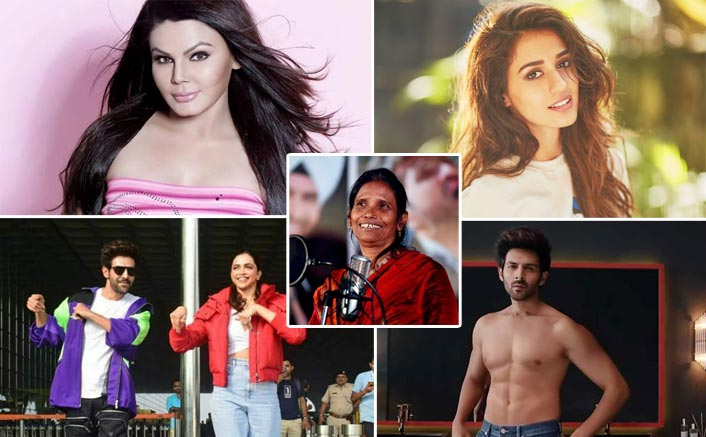 #Flashback2019: From Rakhi Sawant's Gajar Ka Halwa To Kartik Aaryan's Fake Abs; Celebs Who Made Headlines With Worthless News