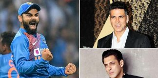 For The First Time Ever, Virat Kohli BEATS Akshay Kumar & Salman Khan In Forbes India Celebrity Top 100!