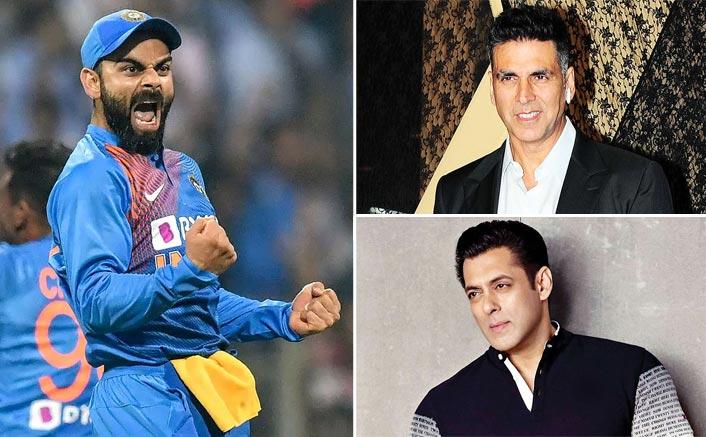 For The First Time Ever, Virat Kohli BEATS Akshay Kumar & Salman Khan In Forbes India Celebrity Top 100!