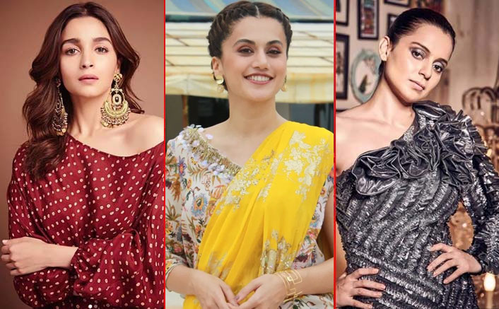 Forget Alia Bhatt, Taapsee Pannu, Here Are The Bollywood Actors & Actresses Which Kangana Liked This Year