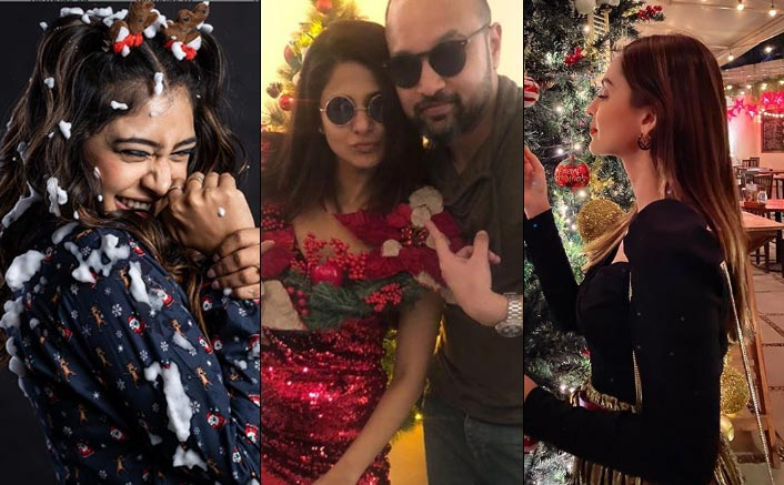 From Jennifer Winget To Krystle D'Souza, Television Stars Spread The Christmas Cheer