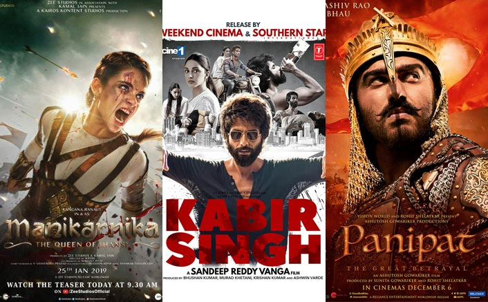 From Kangana Ranaut's Manikarnika To Shahid Kapoor's Kabir Singh, 5 Controversial Films That Made Headlines In 2019