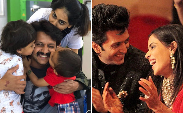 Genelia D'souza Has The Sweetest Wishes For Hubby Riteish Deshmukh