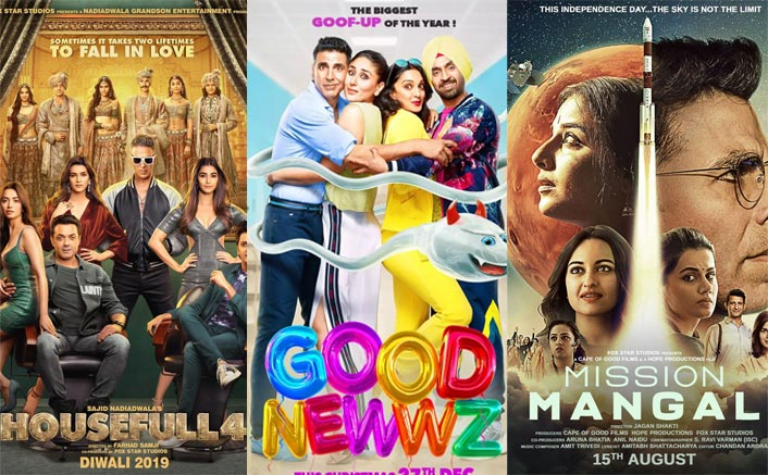 Good Newwz Box Office: 39.34 Crores VS Mission Mangal, Housefull 4 & Other Akshay Kumar 2019 Releases!