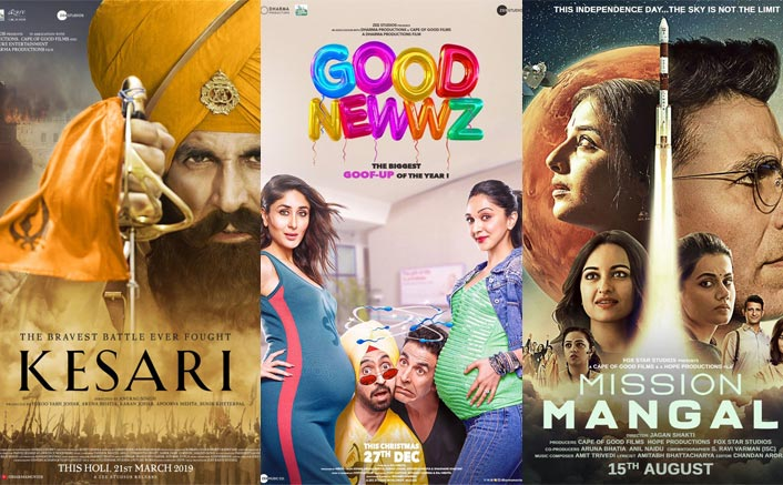 Good Newwz Box Office: Akshay Kumar's 2019 Releases- Kesari, Mission Mangal & Housefull 4; Where Will It Get Ranked In Opening Day Battle?