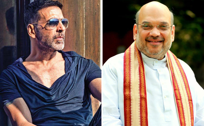 Good Newwz Star Akshay Kumar f he had any questions for the home minister Asked If He Has Any Questions For Home Minister Amit Shah & His Answer Was Quite Befitting