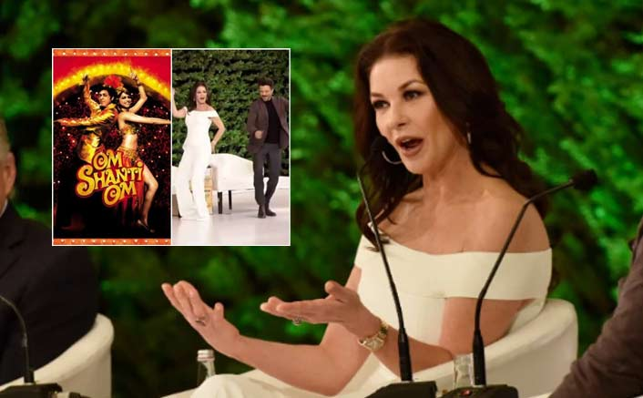 "Hollywood Actor Catherine Zeta-Jones And Her Family Is A Big Bollywood Fan: """"My Kids Have Been Brought Up Singing Om Shanti Om"""