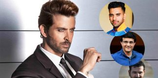 Hrithik Roshan is a unanimous favorite amongst the cricketers as well!