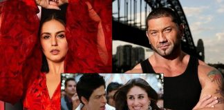 Huma Qureshi Helps Dave Bautista To Groove On Shah Rukh Khan, Kareena Kapoor Khan's Chammak Challo