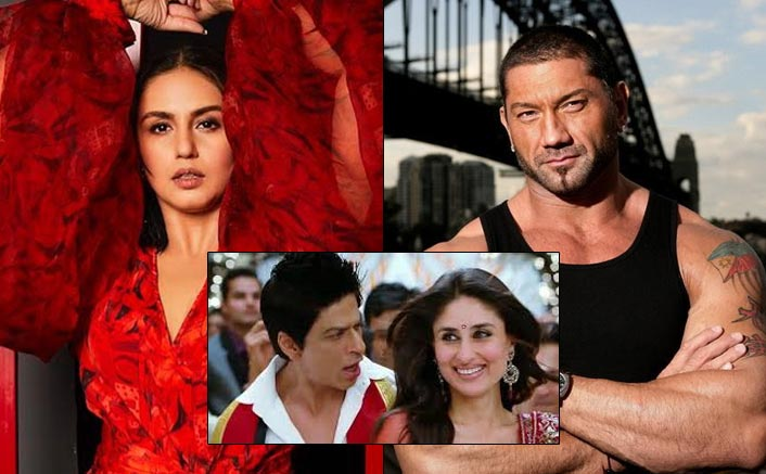 Huma Qureshi Helps Dave Bautista To Groove On Shah Rukh Khan, Kareena Kapoor Khan's Chammak Challo