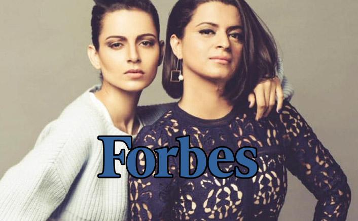 Kangana Ranaut's Sis Rangoli BASHES Forbes Over Top 100 Celebs List, Calls Them 'FRAUD'