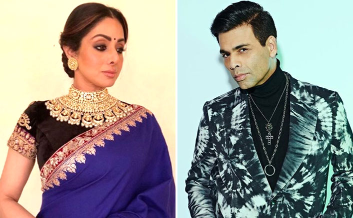 "Karan Johar On Sridevi: ""I Was Dying To Be Her Best Friend, Tried Everything"""