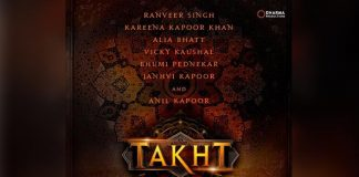 Karan Johar's Takht To Have A Start To Finish 170 Day ShootSchedule!