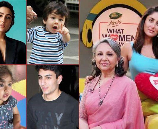 Kareena Kapoor Khan Asks Sharmila Tagore To Pick Her Favourite Among Sara, Ibrahim, Taimur & Inaaya