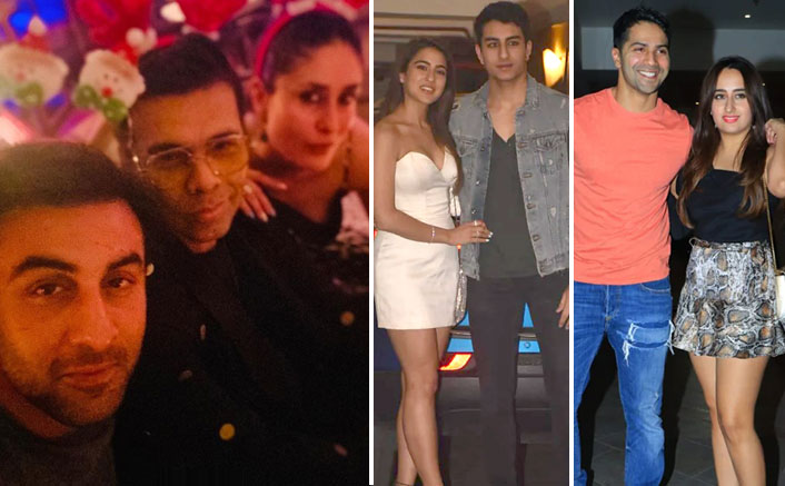 Kareena Kapoor - Saif Ali Khan's Christmas Bash Become Merry As Ranbir Kapoor, Alia Bhatt, Kara Johar Join The Party