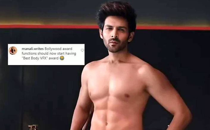 Kartik Aaryan Gets Trolled For Sporting Fake Abs In A Commercial; Check Out The Users' Reactions