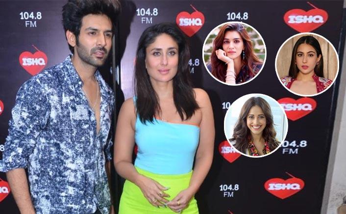 Kartik Aaryan Likes Sara Ali Khan, Blocks Nushrat Bharucha & Friendzones Kriti Sanon At Kareena Kapoor Khan's Show