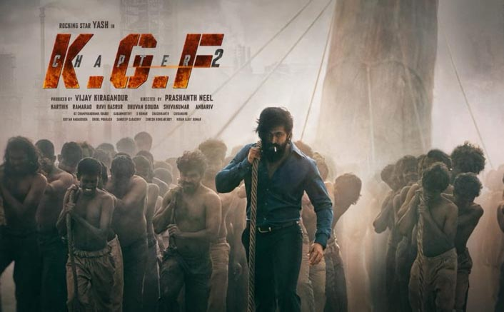 KGF Chapter 2 First Look Out! Yash Takes The Story Forward On His Shoulders Literally