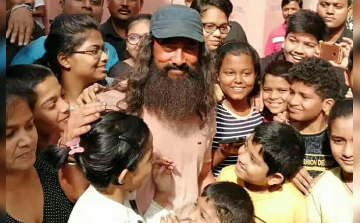 Laal Singh Chaddha: Aamir Khan Bonding With Children On Sets Is The Adorable Content Of The Day