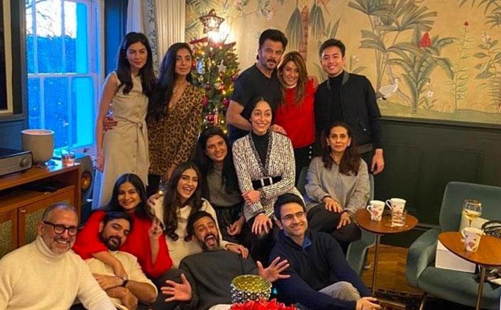 Anil Kapoor, Shilpa Shetty & Sonam Kapoor Party Hard On X'Mas In London
