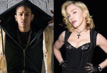 Madonna cozies up to dancer Ahlamalik Williams