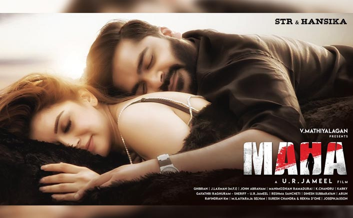 Maha: First Look Poster Of Former Lovers Simbu & Hansika Motwani From Their Next Goes Viral