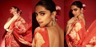 Make Heads Turn With Deepika Padukone's Floral Sabyasachi Saree This Wedding Season