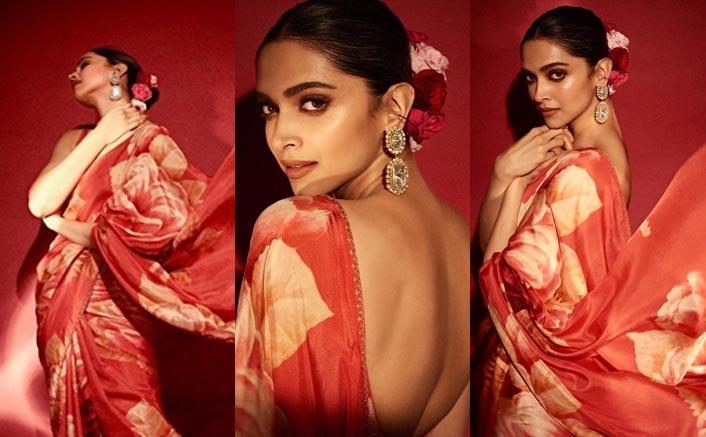 Make Heads Turn With Deepika Padukone's Floral Sabyasachi Saree This Wedding Season