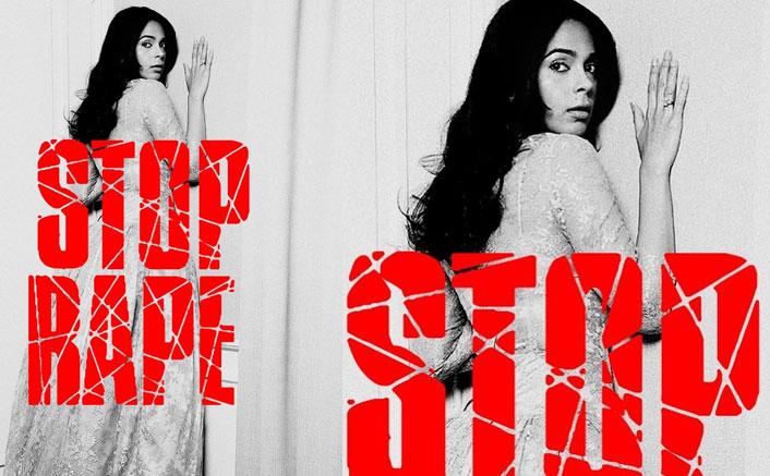 Mallika Sherawat Opposes Rape In A BOLD Way! See Pic