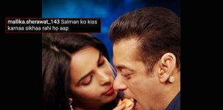 Mallika Sherawat's 'Tender Moment' With Salman Khan Has Netizens Saying 'Kiss Karna Sikhaa Rahi Ho?'