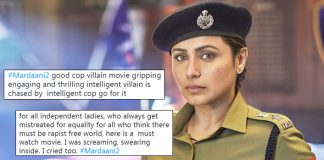 Mardaani 2: First Reaction Out! Shandaar, Zabardast, Zindabad Rani Mukerji & Vishal Jethwa!