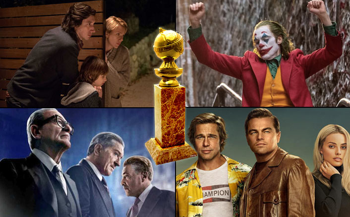 Golden Globes 2020: Marriage Story Leads, The Irishman, OUATIH & Joker Follow - Complete List Of The Nominations