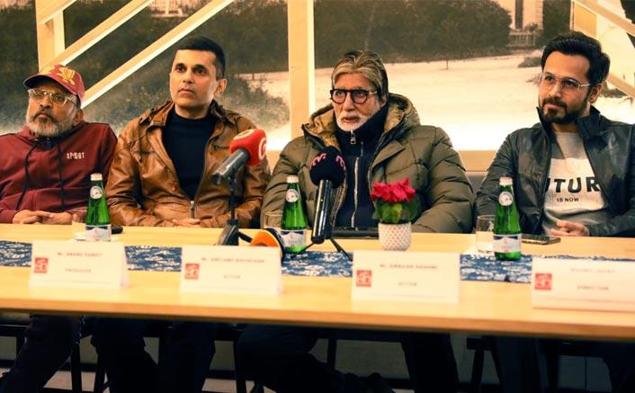 Amitabh Bachchan & Emraan Hashmi's Candid Press Meet In Slovakia For Chehre