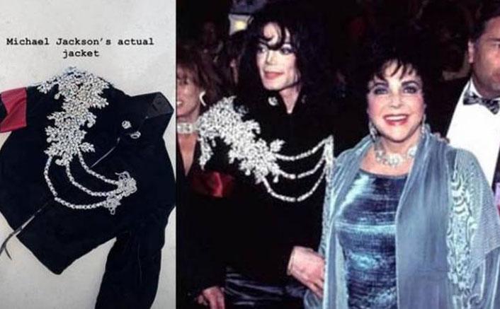 Michael Jackson's jacket is a Christmas gift
