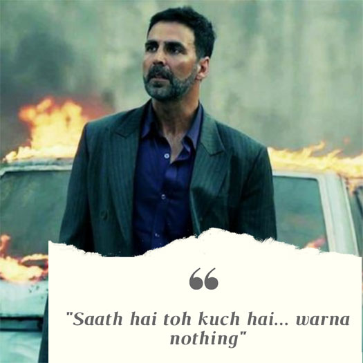 #MondayMotivation: Akshay Kumar's THIS Dialogue Echoes The Current Thoughts Of Many