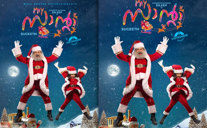 My Santa: First Look Poster From Dileep's Christmas Comedy Release