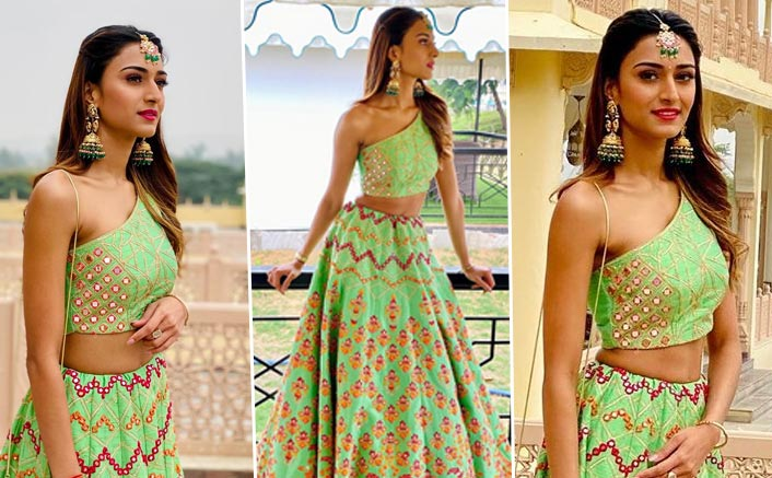 Erica Fernandes' Lehenga Is The Perfect Outfit For Your BFFs Wedding!
