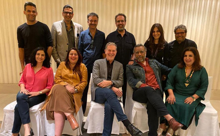 Netflix CEO Reed Hastings meets the entertainment honchos