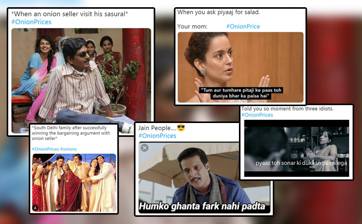 #OnionPrices: Funny Bollywood Meme On Hiked Onion Prices That Will Literally Leave You In Tears