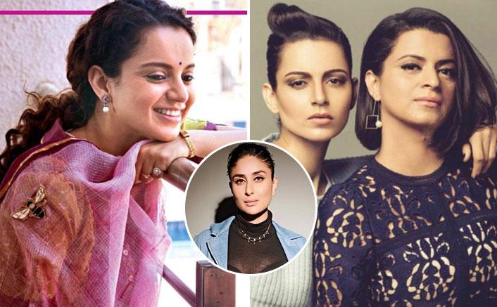 Panga FIRST Look Out! Kangana Ranaut's Sister Shares Good News; Praises Kareena Kapoor Khan