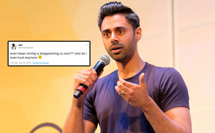 Patriot Act: People Feel Cheated As Hasan Minhaj Didn't Focus On CAA After Sharing A Promo Regarding It