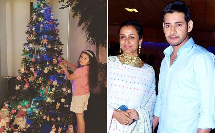PIC: Mahesh Babu & Namrata Shirodkar's Daughter Sitara All Busy With Decorations To Welcome Christmas