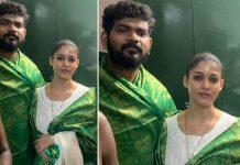 Pics: Darbar Actress Nayanthara & Beau Vignesh Shivan Seek Blessings Of The Almighty At A Temple Kanyakumari