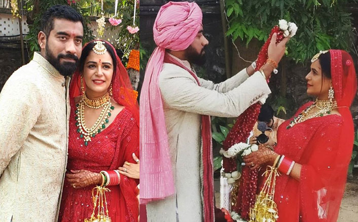 PICS: Mona Singh Is Officially Married & Her Red Lehenga Is All Things Beautiful!