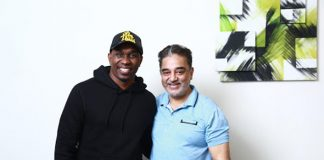Pics: When West Indies Cricketer Dwayne Bravo Met Kamal Haasan