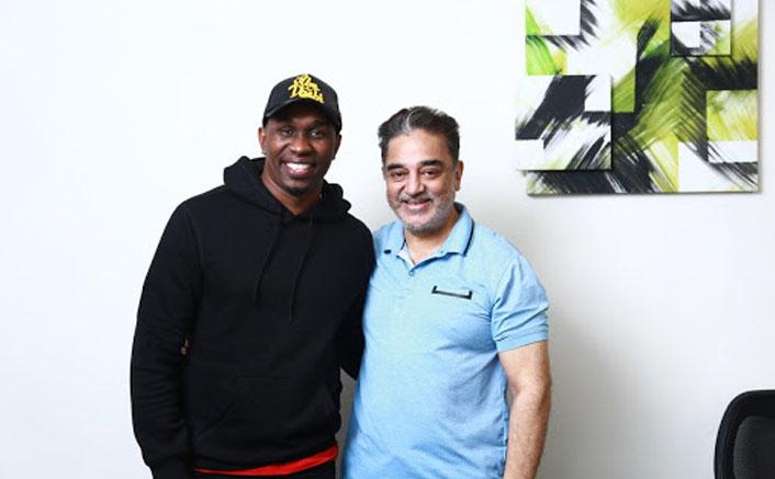 Pics: When West Indies Cricketer Dwayne Bravo Met Kamal Haasan